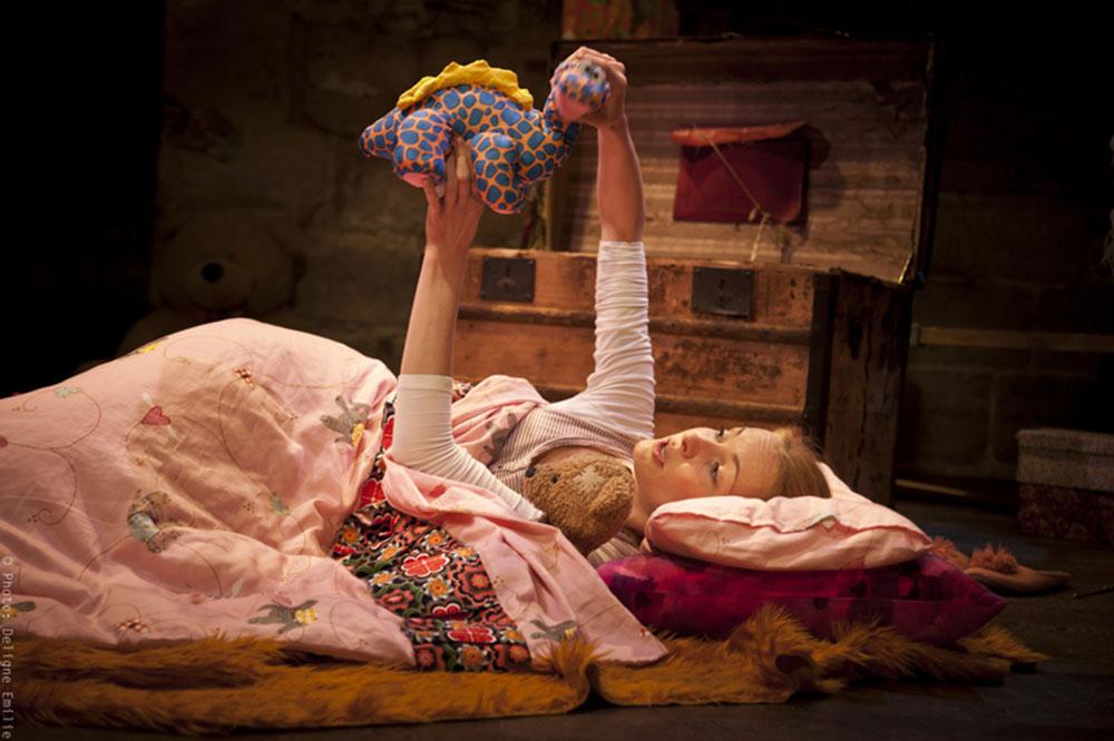 La petite fille sans sommeil - Photo Emilie Deligne